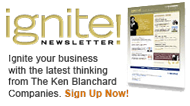Sign up for The Ken Blanchard Companies Ignite! newsletter
