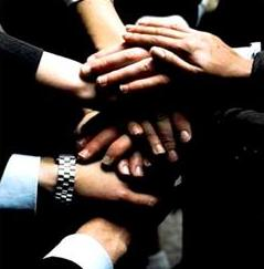 Teamwork - Hands photo