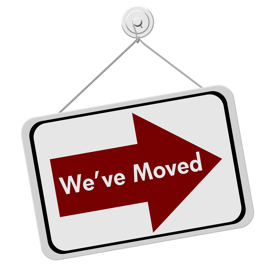 Image result for we've moved